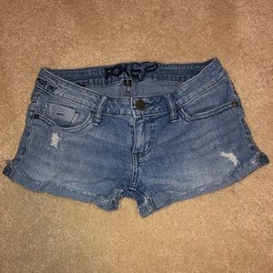 Fox Rider Co Jean Shorts